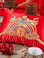 cheap -Pillow Original Creation Design Extreme Exquisite Satin Embroidered Chinese Style Small Pillow Include Pillow Core