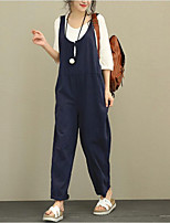 cheap -aliexpress ebay foreign trade new overalls korean version plus fat large size loose casual pants trousers