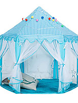 cheap -Kids Princess Castle Playhouse Tent, Fairy Play Tents, Hexagon Indoor and Outdoor Castle Play Tent for Children Girls
