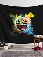 cheap -Wall Tapestry Art Decor Blanket Smiley Curtain Hanging Home Bedroom Living Room Decoration and Modern and Novelty