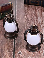 cheap -2 pieces vintage oil lanterns small kerosene lamp horse lantern camping light emergency light outdoor tent lamp for fishing hiking hunting