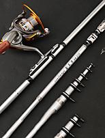 cheap -Fishing Rod Telescopic Rod 100/120/150/170/190/210/230 cm Portable Lightweight Sea Fishing