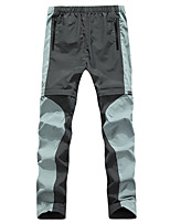 cheap -Men's Hiking Pants Trousers Convertible Pants / Zip Off Pants Patchwork Summer Outdoor Regular Fit Waterproof Quick Dry Breathable Sweat wicking Bottoms Army Green Grey Coffee Hunting Fishing Climbing