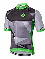 cheap -men's cycling jersey short sleeve bike shirt breathable bicycle clothing quick dry pro team cycling wear