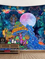 cheap -Psychedelic Abstract Tapestry Art Decor Blanket Curtain Hanging Home Bedroom Living Room Polyester Hippie Creative Mushroom