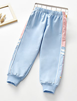 cheap -girls' pants, spring and autumn clothes, children's sports pants, 2021, foreign style girls, spring clothes, small and medium children's casual trousers