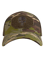 cheap -Men's Baseball Cap Sun Hat Fishing Hat Outdoor UV Sun Protection Windproof UPF50+ Quick Dry Spring Summer Camouflage Color Black Camouflage / Breathable