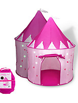 cheap -Play Tent & Tunnel Playhouse Teepee Castle Princess Foldable Glow in the Dark Convenient Polyester Gift Indoor Outdoor Party Favor Festival Fall Spring Summer 3 years+ Boys and Girls Pop Up / Kid's