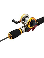 cheap -Fishing Rod and Reel Combo Casting Rod 52/66 cm Portable Lightweight Sea Fishing