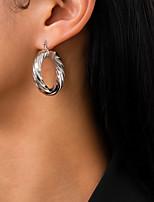 cheap -Women's Stud Earrings Drop Earrings Hoop Earrings Retro Ball Stylish Artistic Simple Vintage Trendy Earrings Jewelry Gold / Silver For Party Street Daily Holiday Festival 2pcs