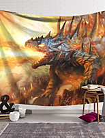 cheap -Wall Tapestry Art Decor Blanket Dinosaur Curtain Hanging Home Bedroom Living Room Decoration and Fantasy and Novelty