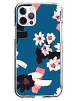 cheap -Scenery Floral Case For Apple iPhone 12 iPhone 11 iPhone 12 Pro Max Unique Design Protective Case Pattern Back Cover TPU