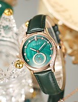 cheap -Women's Quartz Watches Analog Quartz Stylish Minimalist Water Resistant / Waterproof Diamond / PU Leather