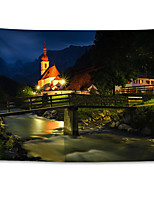 cheap -Wall Tapestry Art Decor Blanket Curtain Hanging Home Bedroom Living Room  Polyester Night Church