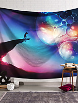 cheap -Wall Tapestry Art Decor Blanket Curtain Hanging Home Bedroom Living Room Polyester Colourful Starry Sky