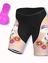 cheap -21Grams Women's Cycling Shorts Spandex Bike Padded Shorts / Chamois Breathable Sports Pink Mountain Bike MTB Road Bike Cycling Clothing Apparel Bike Wear / Stretchy / Athleisure