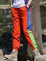 cheap -Women's Hiking Pants Trousers Patchwork Winter Outdoor Tailored Fit Waterproof Antistatic Quick Dry Breathable Spandex Pants / Trousers Yellow Blue Orange Green Fishing Climbing Camping / Hiking