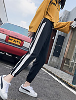 cheap -Women's Sweatpants Jogger Pants Drawstring Cotton Sport Athleisure Pants Breathable Soft Comfortable Plus Size Everyday Use Casual Daily Outdoor Exercising