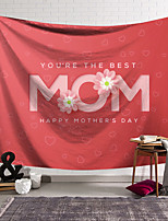 cheap -Wall Tapestry Art Decor Blanket Curtain Hanging Home Bedroom Living Room Decoration Polyester Pink Text