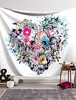 cheap -Wall Tapestry Art Decor Blanket Curtain Hanging Home Bedroom Living Room Decoration Polyester Skull Rose