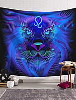 cheap -Wall Tapestry Art Decor Blanket Curtain Hanging Home Bedroom Living Room Decoration Polyester Lion