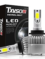 cheap -TXVSO8 Car LED Headlamps D2R / D2S / D4R Light Bulbs 10000 lm COB 55 W 2 For Toyota / Suzuki / Nissan All Models 2018 / 2013 / 2015 2pcs