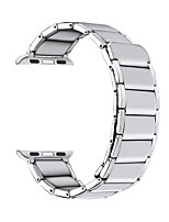 cheap -Watch Band for 44mm 40mm  42mm 38mm  Apple Watch Series 6 / SE / 5/4 / 3/2/1 Apple Business Band Stainless Steel Wrist Strap