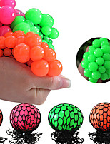 cheap -1 pc Rainbow Stress Ball Fidget Toy with Colorful Beads Inside Stress Balls for Stress Relief Ball for Adults