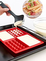 cheap -Waffle Makers Cooking Baking at Home for Kids Silicone Cake Mould Waffle Mould Silicone Bakeware Set Nonstick Silicone Baking Mold Set