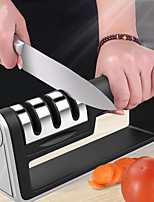 cheap -Knife Sharpener 3 Stages Quick Professional Sharpener Knife Sharpening Tools Sharpening Stone DIY Cooking at Home