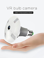 cheap -Light Bulb Camera Remote Phone Monitor WiFi 2mp HD Night Vision 360-Degree Panorama of Home without Light