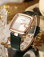 cheap -Women's Quartz Watches Analog Quartz Minimalist Water Resistant / Waterproof / PU Leather