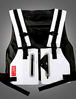 cheap -Women's Hiking Vest / Gilet Fishing Vest Sleeveless Vest / Gilet Top Outdoor Waterproof Lightweight Breathable Quick Dry Autumn / Fall Spring Nylon Solid Color White Black Fishing Climbing Running