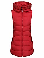cheap -Women's Fishing Vest Hiking Fleece Vest Winter Outdoor Quick Dry Lightweight Breathable Sweat wicking Jacket Top Climbing Camping / Hiking / Caving Black Red Green / Sleeveless