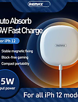 cheap -REMAX 15W Magnetic Wireless Charger High Power Handheld Fast Charging USB Wireless Charger For iPhone 12 Pro Max CE Certified Quick Charge Wireless Pad for iPhone 12 Mini