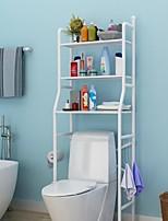 cheap -Toilet Rack Free Punching Toilet Rack Floor Bathroom Storage Rack Household