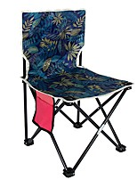 cheap -Camping Chair Portable Ultra Light (UL) Multifunctional Foldable Oxford for 1 person Fishing Beach Camping Autumn / Fall Winter Black Navy Blue Camouflage Blue / Breathable / Comfortable