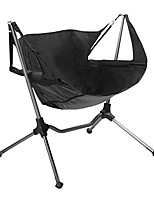 cheap -Camping Chair Multifunctional Portable Breathable Ultra Light (UL) Aluminum Alloy for 1 person Fishing Beach Camping Autumn / Fall Winter Black
