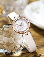 cheap -Women's Quartz Watches Analog Quartz Stylish Elegant Water Resistant / Waterproof Diamond / Genuine Leather
