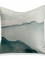 cheap -Double Side 1 Pc Colour Block Cushion Cover  Print 45x45cm Linen for Sofa Bedroom