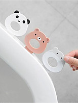 cheap -Cartoon Clamshell Toilet Toilet Clamshell Clamshell Handle Household Plastic/Self-adhesive