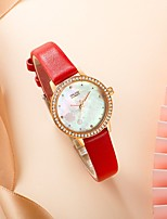 cheap -Women's Quartz Watches Analog Quartz Stylish Floral Style Elegant Water Resistant / Waterproof / PU Leather