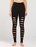 cheap -Women's Sports Outdoor Sports Sport Active Sweatpants Pants Plain Full Length Black