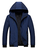 cheap -Women's Hiking Softshell Jacket Hiking Windbreaker Autumn / Fall Winter Summer Outdoor Solid Color Windproof Quick Dry Lightweight Breathable Jacket Hoodie Top Full Length Visible Zipper Fishing