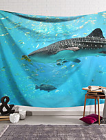 cheap -Wall Tapestry Art Decor Blanket Shark Curtain Hanging Home Bedroom Living Room Decoration and Modern and Animal