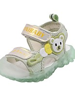 cheap -Unisex Sneakers Jelly Shoes Leather Synthetics Katy Perry Sandals Big Kids(7years +) Daily Chain White Pink Green Summer / Booties / Ankle Boots / Color Block