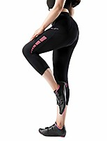 cheap -cycling shorts women 3d padded 3/4 bike shorts anti-slip bicycle capris for women long trousers breathable & quick dry pink xxl alita