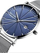 cheap -Men's Dress Watch Analog Quartz Sporty Stylish Calendar / date / day Noctilucent / One Year / Titanium Alloy