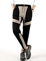 cheap -Men's Hiking Pants Trousers Patchwork Summer Outdoor Waterproof Quick Dry Breathable Stretchy Spandex Pants / Trousers Black Blue Khaki Green Dark Blue Hunting Fishing Climbing M L XL XXL XXXL