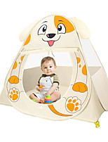 cheap -Play Tent & Tunnel Playhouse Teepee Dog Animal Foldable Convenient Polyester Gift Indoor Outdoor Party Favor Festival Fall Spring Summer 3 years+ Boys and Girls Pop Up Indoor/Outdoor Playhouse for